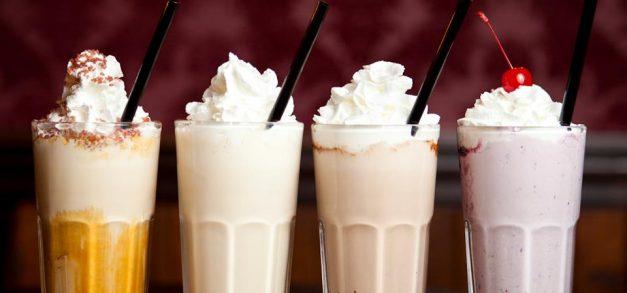Milk shake no sábado