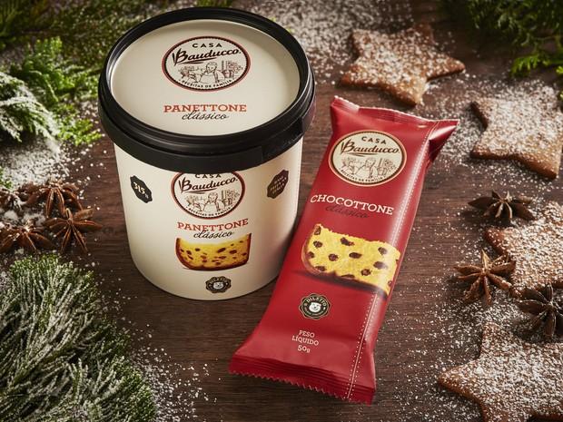 Casa Bauducco e Diletto lançam picolé e sorvete em parceria