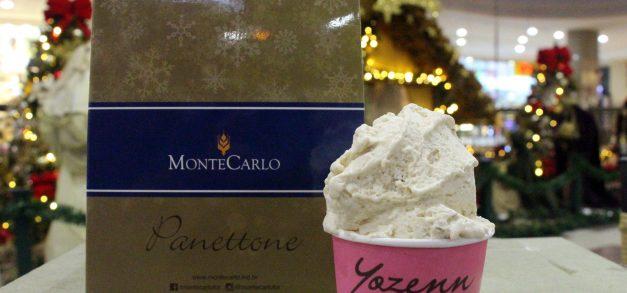 Yozenn lança gelato de panetone para o Natal