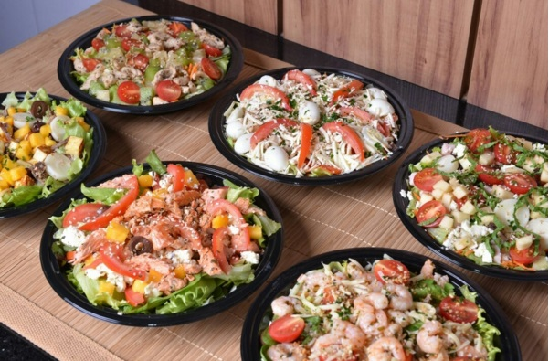 Cinco deliveries de comida saudável em Fortaleza