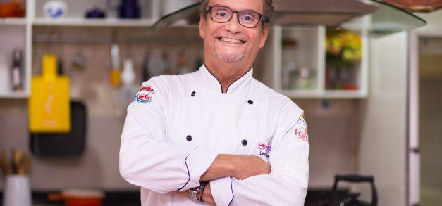 Léo Gondim: chef, professor, apresentador de TV, consultor gastronômico. Muitas faces de um mesmo homem