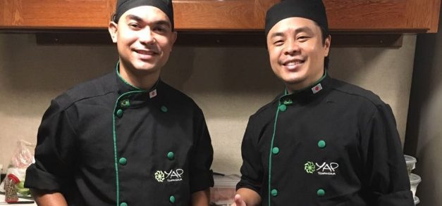 Yap realiza treinamento com chef Marcos Tadashi