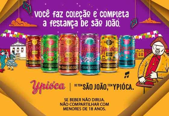 Ypióca homenageia São João em edição de latas colecionáveis