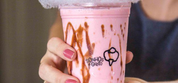 Sonhos di Gelato une algodão-doce a sorvete em Fortaleza