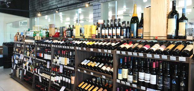 Adega do Supermercado Guará é dica para fãs de bebidas