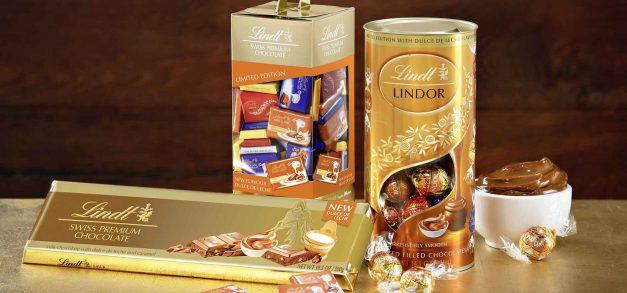 Chocolate Lindt ganha sabor doce de leite