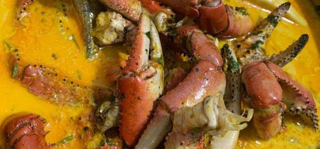 Quinta do caranguejo sem sujeira e em casa com as Patolas At Home