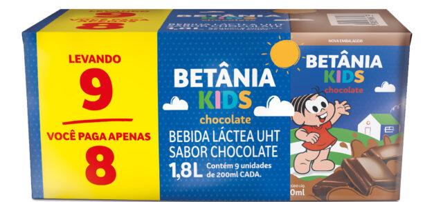 Betânia Kids lança produtos econômicos estampados pela Turma da Mônica